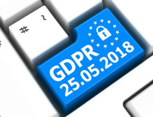 25th May……GDPR looming large!