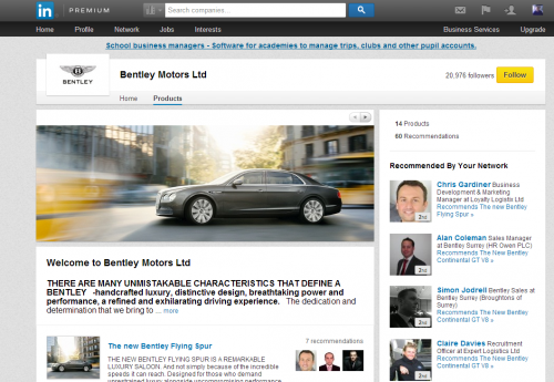 Picture 5-bentley linkedin products page