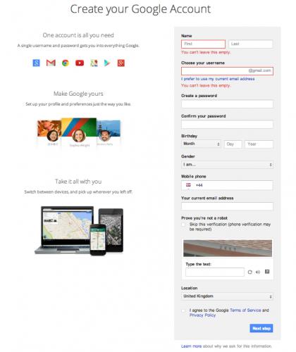 create-a-google-account