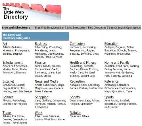 little-web-directory