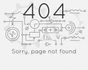 Page not found Error 404, connection error. Abstract technological scheme. Vector illustration